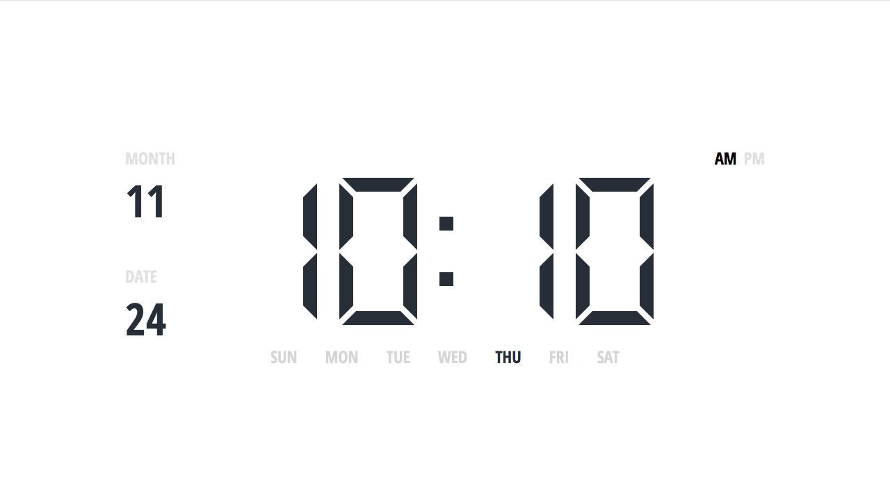 Clock screenshot 4