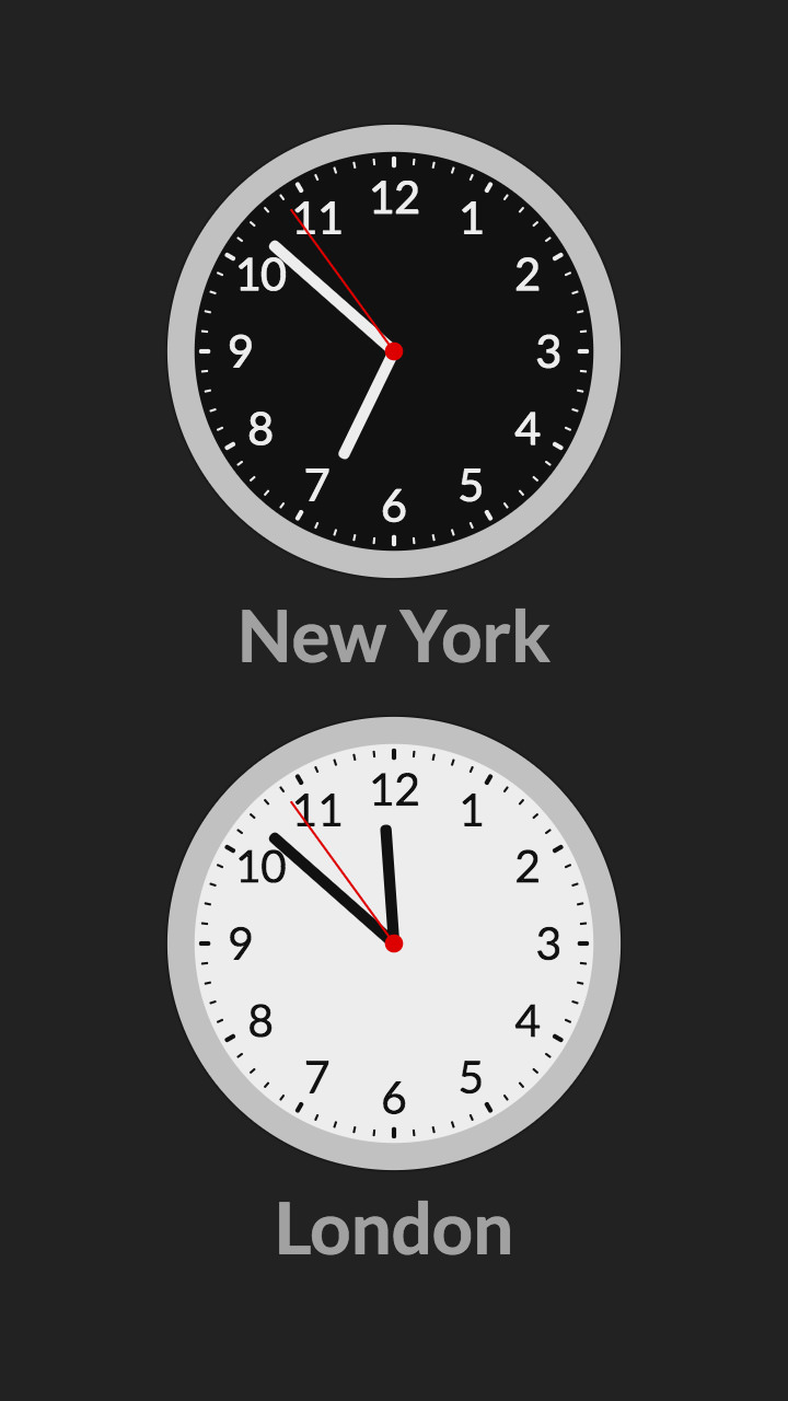 World Clock screenshot 4