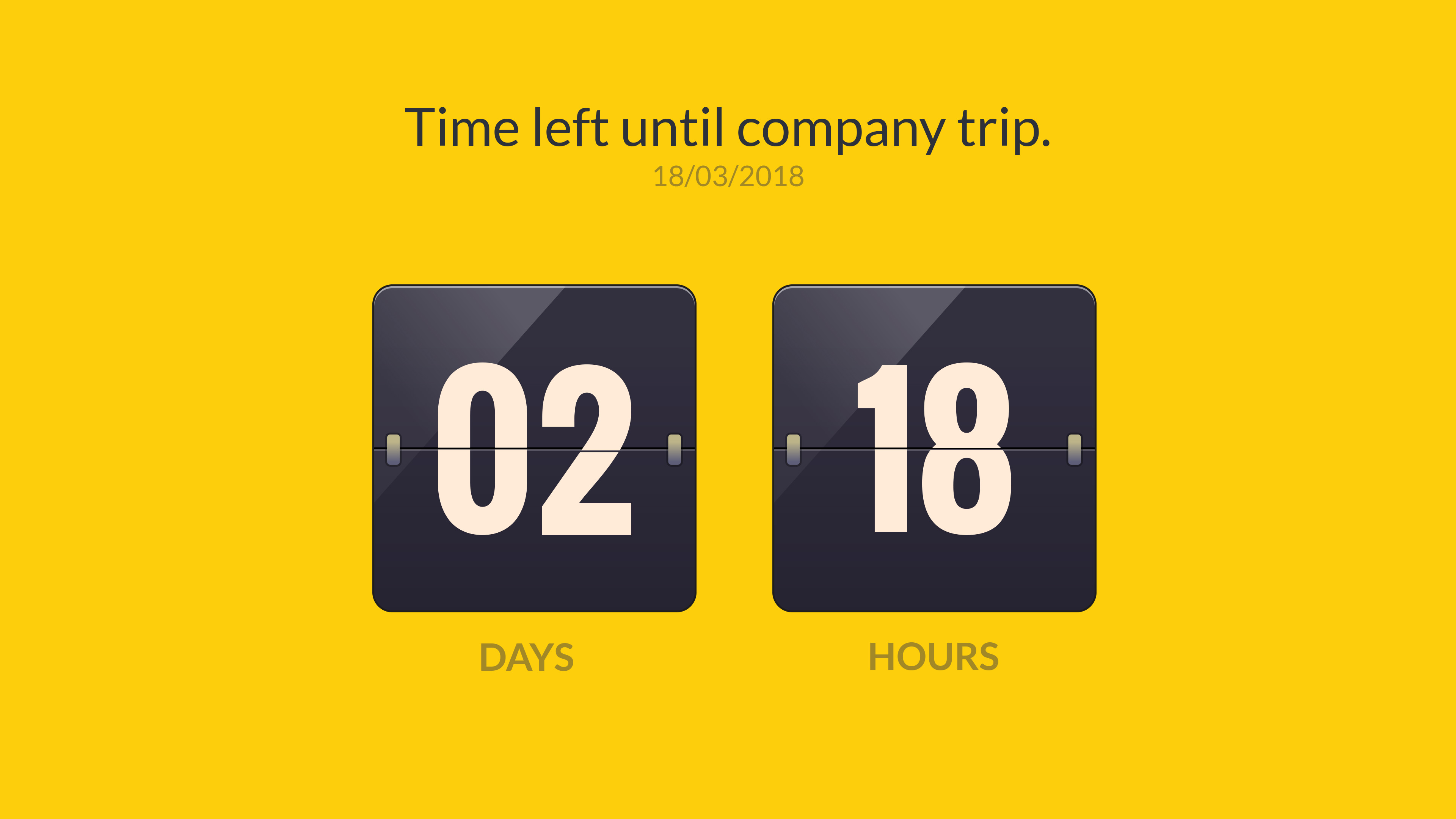 Countdown Timer screenshot 1
