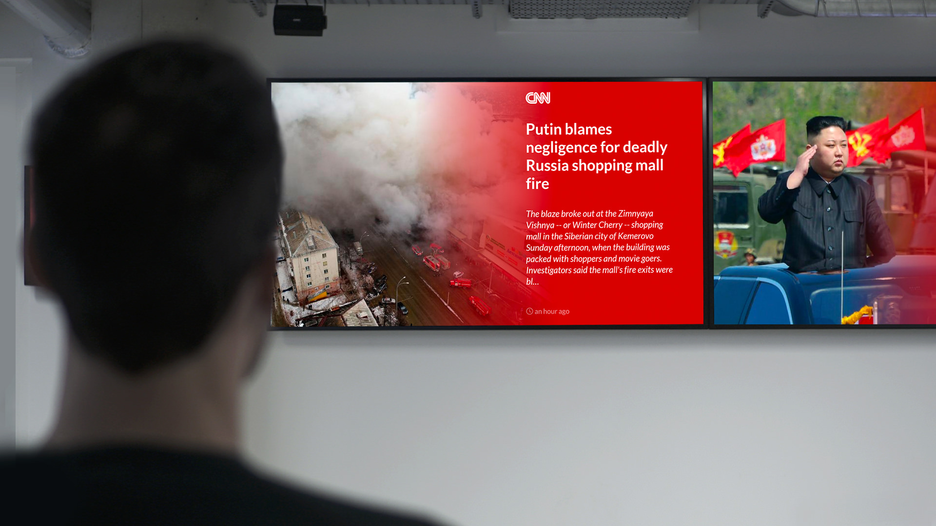 CNN News screenshot 1
