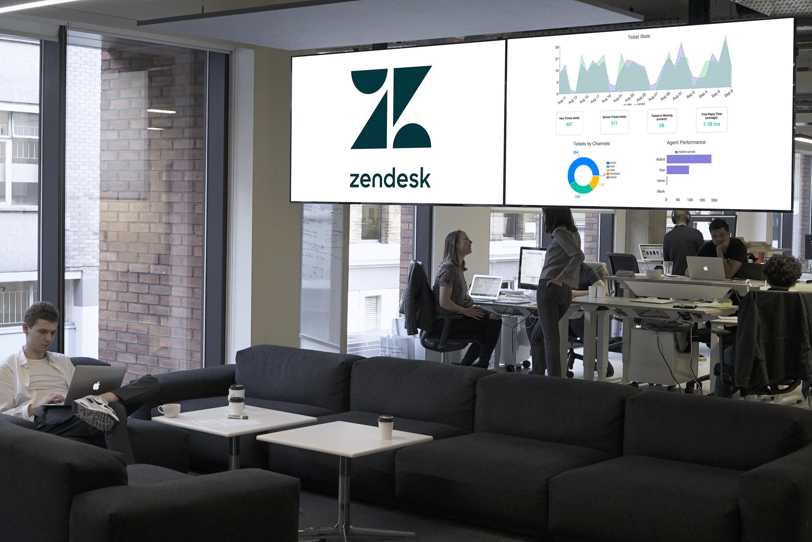Zendesk Reports screenshot 1