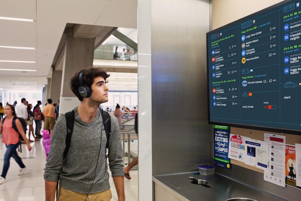 TransitScreen screenshot 1