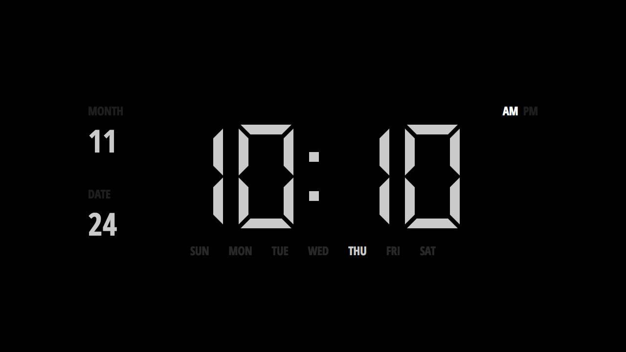 Clock screenshot 3